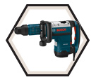 Demolition Hammer (Kit) - 18 lbs - SDS-MAX® - 14.5 amps / DH712VC