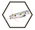 Torpedo 3-Point Alignment Laser (Kit) / GPL3T