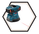 Laser Level - 2 Lines - Red - 12V Li-Ion / GSL 2