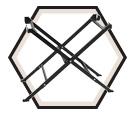 Folding Leg Tile Saw Stand / GTA10