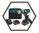 "Hammer Drill/Driver (Kit) - 1/2"" - 18V Li-Ion / HDH181X Series *BRUTE TOUGH"