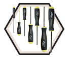 Screwdriver Set - Hex Drive - Standard - Ball End - SAE - 7pc / 10645