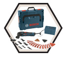 Oscillating Tool (Kit) Multi-X - 2.5 A / MX25EL-37