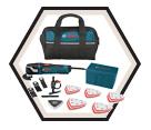 Oscillating Tool (Kit) Multi-X - 3.0 A / MX30EC-31