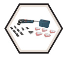 Oscillating Tool (Kit) Multi-X - 3.0 A / MX30EK-35