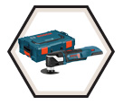 Oscillating Tool (Tool Only) EC Brushless Multi-X - 18V Li-Ion / MXH180BL