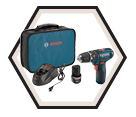 "Hammer Driver Drill (Kit) - 3/8"" Chuck - 12V Max Li-Ion / PS130-2A"