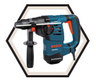"Rotary Hammer (Tool Only) - 1-1/8"" - SDS-Plus - 8.0 amps /RH328VC *AVC"