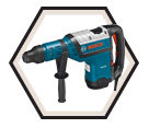 "Rotary Hammer (w/o Acc) - 1-3/4"" SDS-MAX - 13.5 amps / RH745"