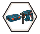 "Rotary Hammer (Kit) - 4.6 lbs - 1-1/4"" SDS-Plus® - 18V Li-Ion / RHH181BL"