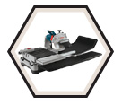 "Wet Tile & Stone Saw (Kit) - 10"" - 15.0 A / TC10"