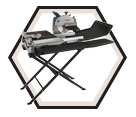 "Wet Tile & Stone Saw (Kit) - 10"" - 15.0 A / TC10-07"