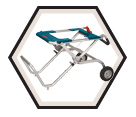 Gravity-Rise™ Table Saw Stand / TS2000