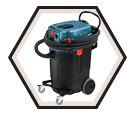 Dust Collector / Vacuum (Kit) - 14 gal. - 9.5 amps / VAC140A