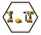 2 Tool Combo Kit XRP™ - 18V Li-Ion / DCK275L