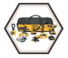6 Tool Combo Kit XRP™ - 18V Li-Ion / DCK655X