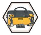 2 Tool Combo Kit - 20V Max Li-Ion / DCK280C2