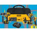 4 Tool Combo Kit - 20V Max Li-Ion / DCK490L2