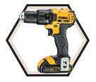 """Driver Drill (Kit) - 1/2"""" Chuck - 20V Max Li-Ion / DCD780C2"""