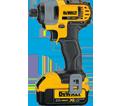 "Impact Driver (Kit) XR™ - 1/4"" Hex - 20V Max Li-Ion / DCF885M2"