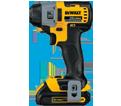 """Impact Driver (Kit) Brushless - 1/4"""" Hex - 20V Max Li-Ion / DCF895C2"""