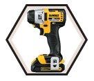 "Impact Driver (Kit) Brushless - 1/4"" Hex - 20V Max Li-Ion / DCF895C2"