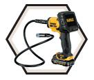 Inspection Camera (Kit) - 17mm - 12V Max Li-Ion / DCT410S1
