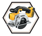 Metal Cutting Circular Saw (Kit) - 20V Max Li-Ion / DCS373M2