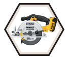"Circular Saw - 6-1/2"" (165mm) - 20V Max Li-Ion / DCS391 Series"