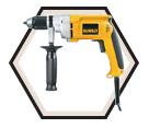 """Drill (Kit) - 1/2"""" - 7.8 A / DW246"""
