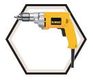 """Drill (Kit) - 3/8"""" - 7.0 A / DW223G"""