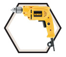 """Drill (Kit) - 3/8"""" - 7.0 amp / DWE1014"""