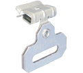 "Inline Hammer-On Strap Hanger - 5/16"" – 1/2"" - Steel / MSS58 *CADDY®ARMOUR"