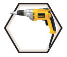"All-Purpose Screwgun (Tool Only) - 2500 RPM - 1/4"" Hex - 6.5 amps / DW276"
