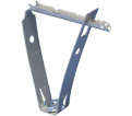 """Trapezoidal Deck Hanger w/ Nut - 3/8"""" - Spring Steel / TDHT6 *CADDY®ARMOUR"""