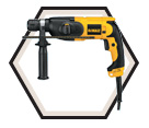 "Rotary Hammer (Kit) - 5.2 lbs - 7/8"" SDS® - 6.0 amps / D25012K"