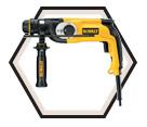 "Hammer Drill - 1"" SDS - 8.0 A / D25123K"