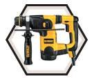 "Rotary Hammer (Kit) - 7.5 lbs - 1"" SDS Plus® - 8.0 amps / D25323K"