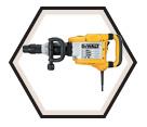 Demolition Hammer (Kit) - 22lbs - SDS MAX® - 14.0 amps / D25901K