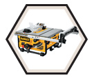 "Job Site Table Saw - 10"" - 15.0 A / DW745"
