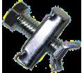 "Hanger Rod Stiffener - 3/8""to 5/8"" ATR - Assembly / ZINC"