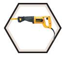 Reciprocating Saw (Kit) - 10.0 A / DW304PK