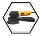 "Right Angle Random Orbit Sander (Tool Only) - 6"" - 4.3 A / DW443"