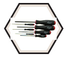 Screwdriver Set - Hex Drive - Standard - Ball End - Metric - 7pc / 10687