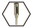 Tile Drill Bit - TI-AWL® Diamond Core / DCC