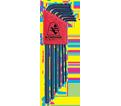 Hex Key Set - L-Wrench - Ball End - Metric - 6 pc / 10946 *BALLDRIVER