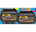 Battery - 6.0 Ah - 20V/60V Li-Ion / DCB606-2 *FLEXVOLT (2 Pack)