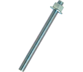 "Anchor Rod Assembly - 3/4"" dia. - Zinc Plated Steel / PRA"