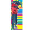 Hex Key Set - L-Wrench - Ball End - Metric - 9 pc / 10999 *BALLDRIVER
