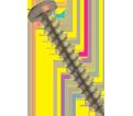 Pan Head 10-16 Robertson Sharp Point Screws / RUSPRO® Coated (BULK)